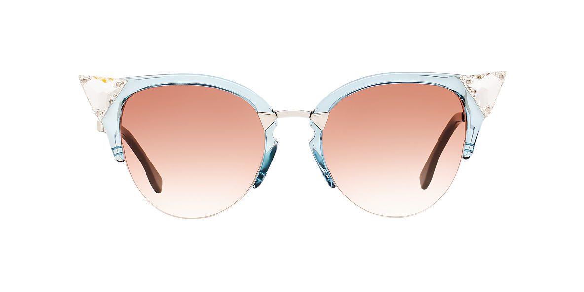 FENDI Blue FF 0041/S 52 Red lenses 52mm