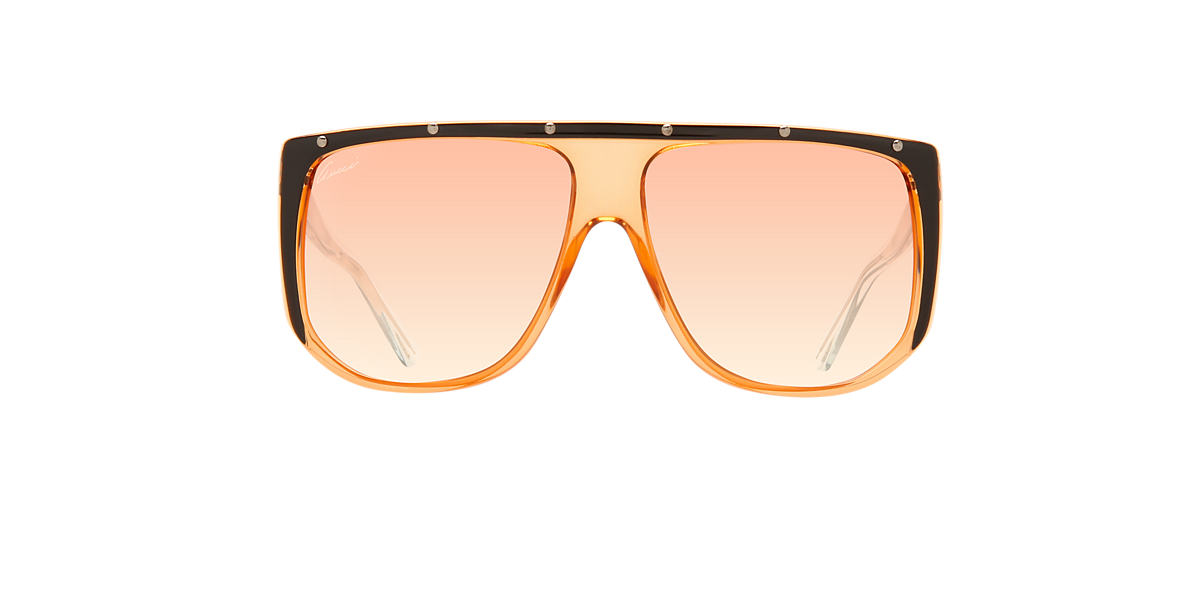 GUCCI Black GG 3705/S 62 Orange lenses 62mm
