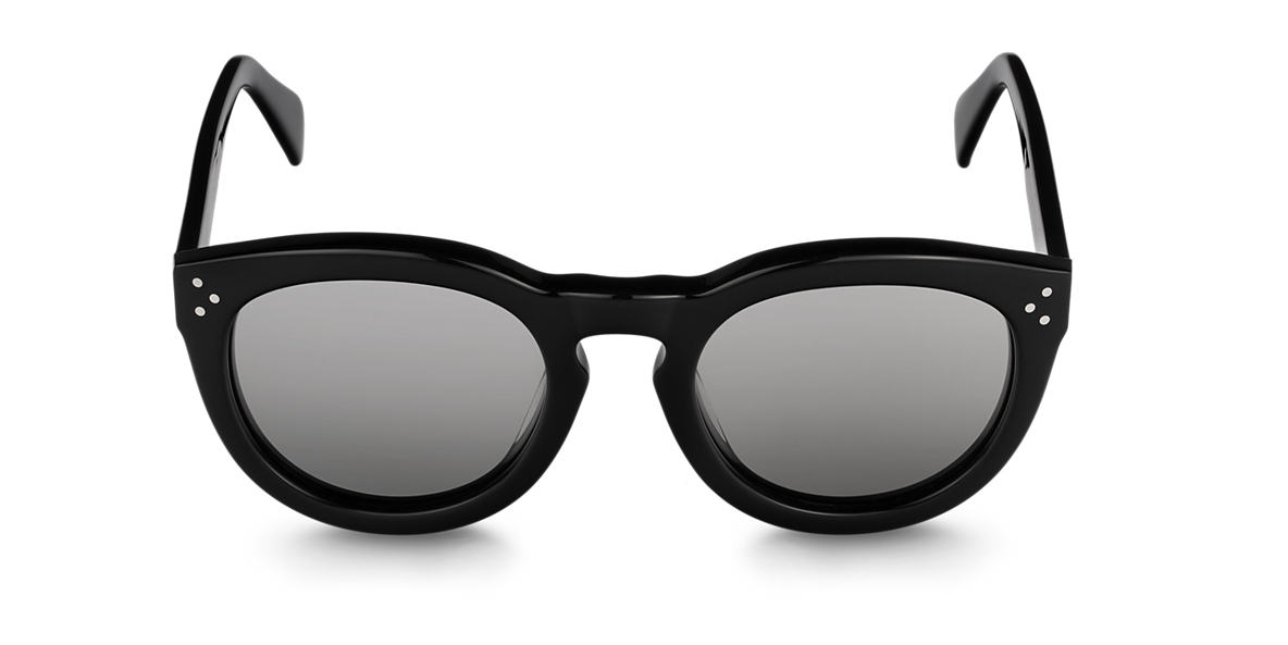 CELINE Black CL41801/S Grey polarised lenses 52mm
