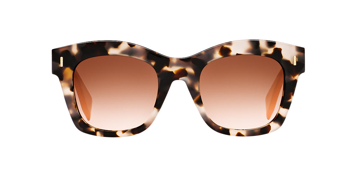FENDI Tortoise FD 0025/S 50 Brown lenses 50mm