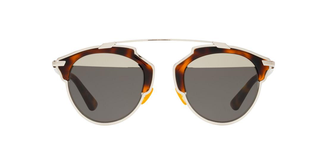 Dior Glasses Frames Official Website : Christian Dior SOREAL 48 Grey & Brown Sunglasses ...