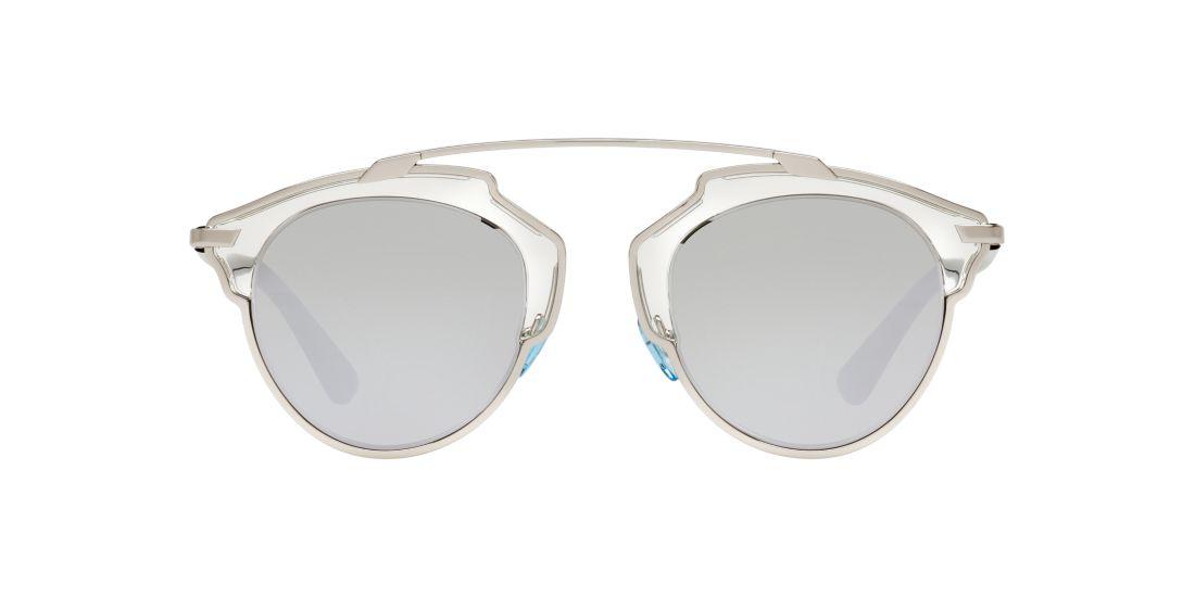 Dior Eyeglass Frames 2016 : Dior SO REAL/S 48 Silver & Clear Sunglasses Sunglass Hut USA