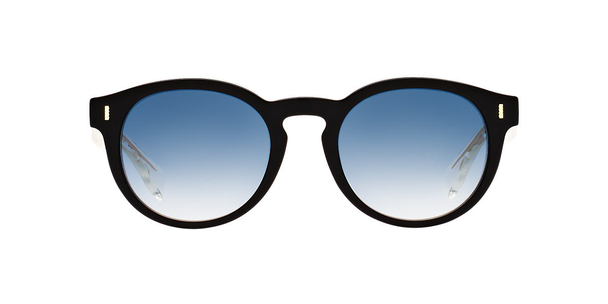 FENDI Black FD 0085/S 50 Blue lenses 50mm