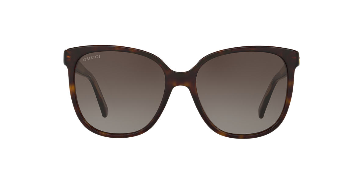 GUCCI Tortoise GG3819/S 55 Brown lenses 55mm