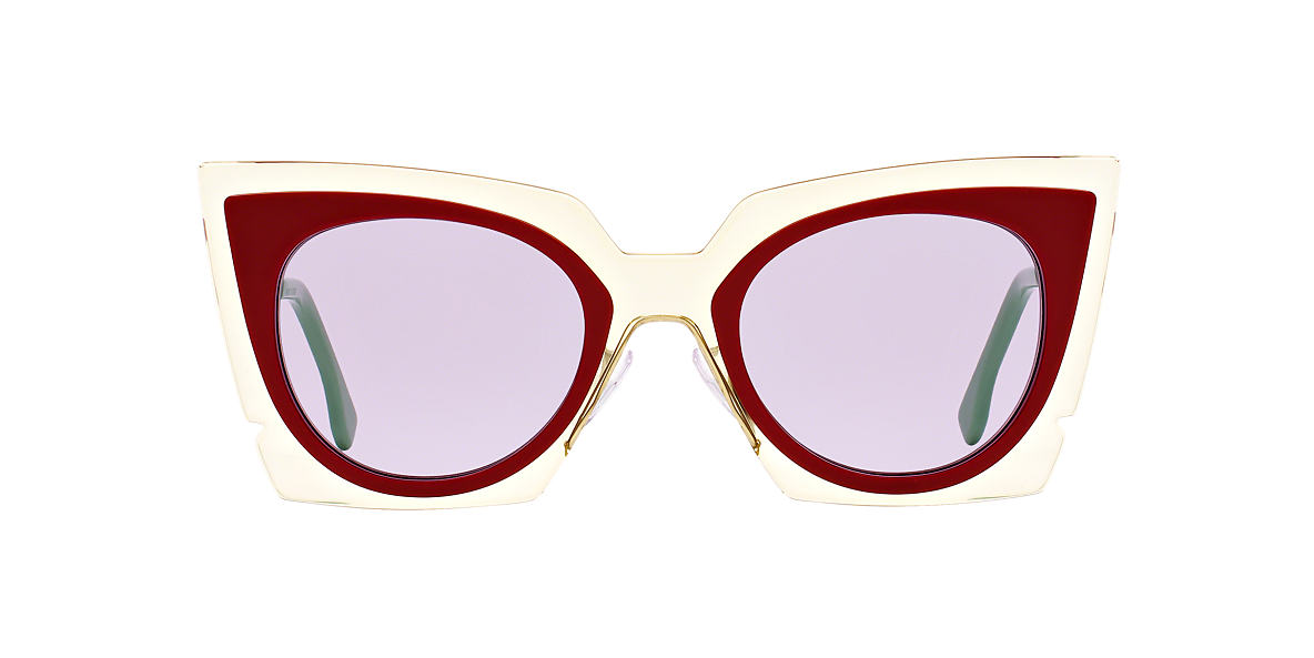 FENDI Clear FD 117/S 49 Purple lenses 49mm