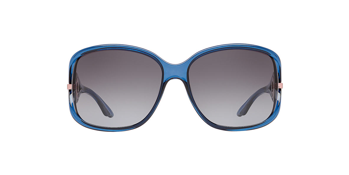 DIOR Blue DIOR VOLUTE2 STRASS 61 Grey lenses 61mm