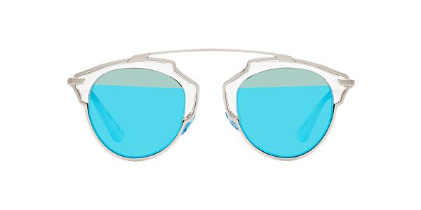 Dior So Real S 48 Blue Amp Silver Sunglasses Sunglass Hut Usa