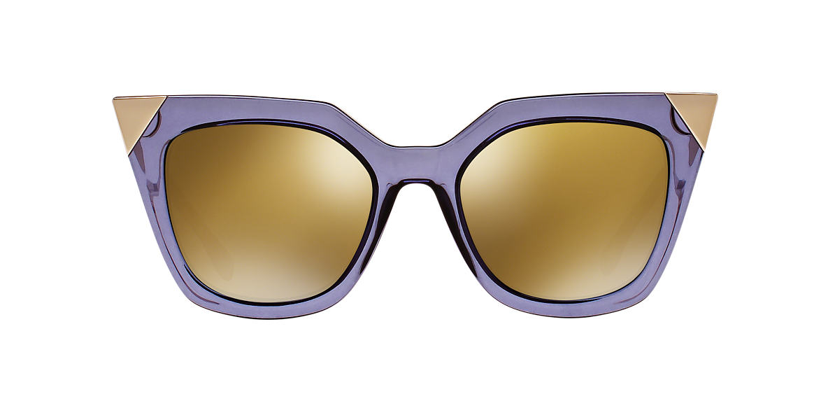 FENDI Blue FD 0060/S 52 Bronze lenses 52mm