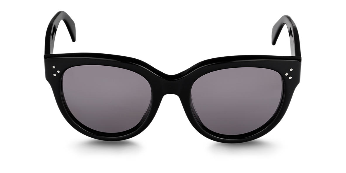 CELINE Black CL41755 Grey polarised lenses 55mm