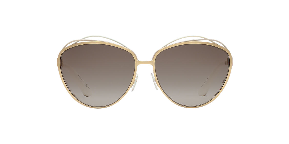 DIOR Gold DIORSONGE 62 Brown lenses 62mm