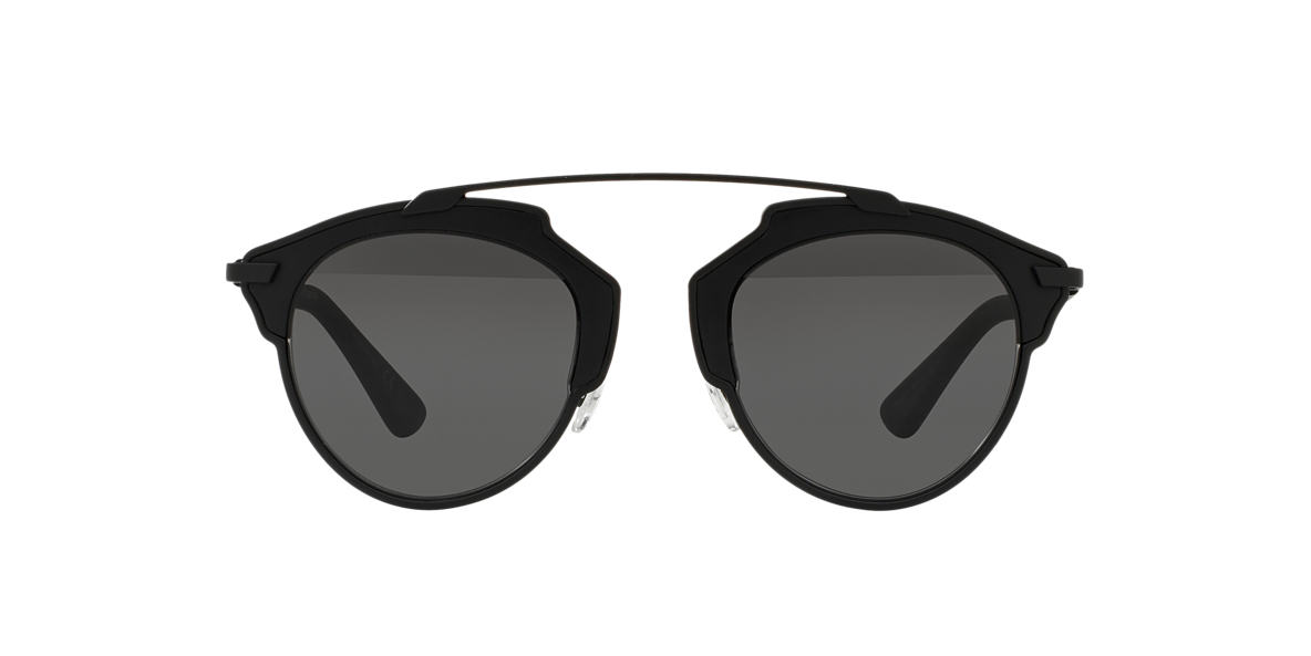 DIOR Black Matte DIORSOREAL 48 Grey lenses 48mm