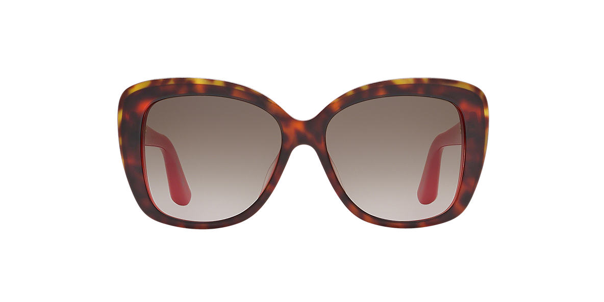 DIOR Red DIOR PROMESSE2 56 Brown lenses 56mm