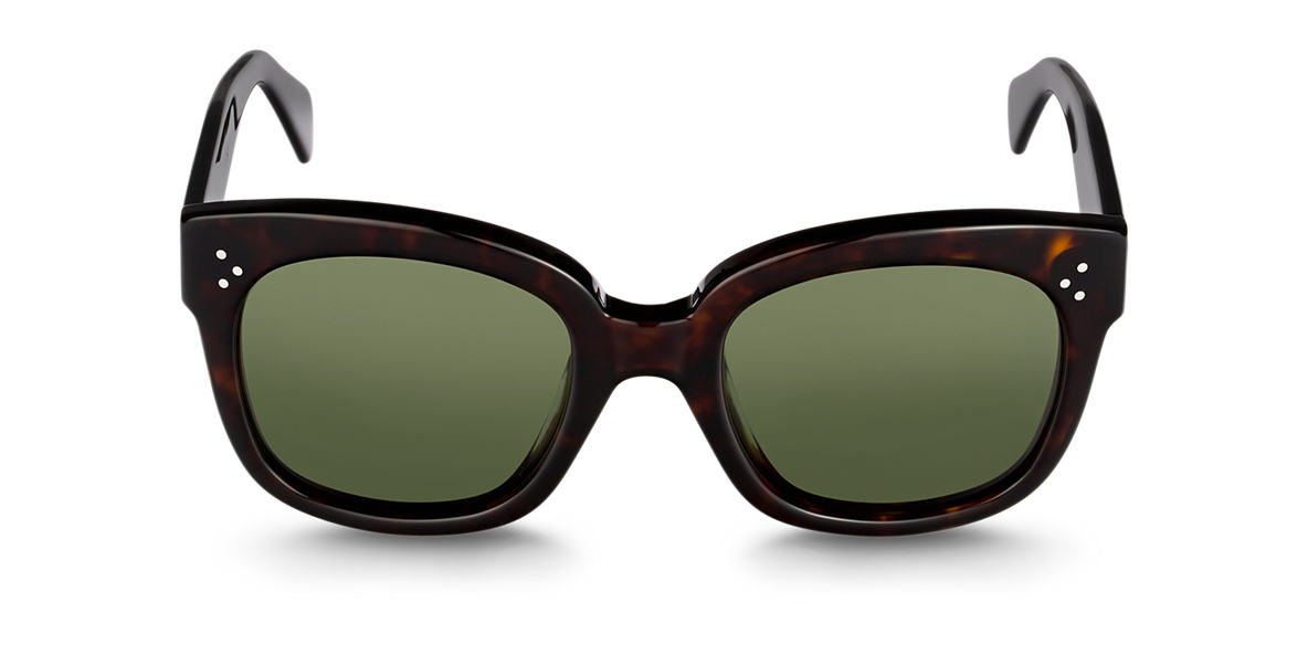 CELINE Tortoise CL41805/S Green lenses 54mm