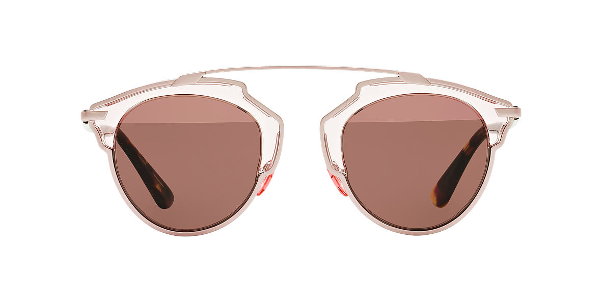 DIOR Brown CD SOREAL/S 48 Pink lenses 48mm