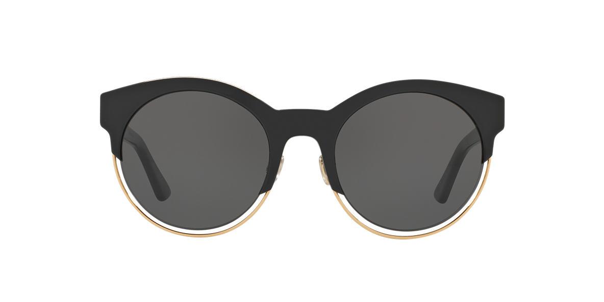 CHRISTIAN DIOR Black DIORSIDERAL1 Grey lenses 53mm