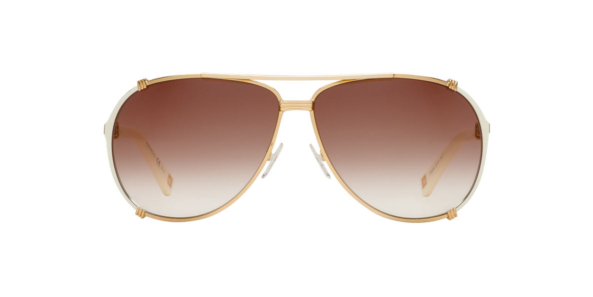 DIOR Rose Gold CHICAGO 2/S Brown lenses 63mm