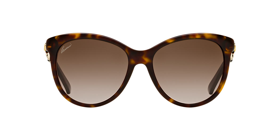 GUCCI Tortoise GG3784/S 56 Brown lenses 56mm