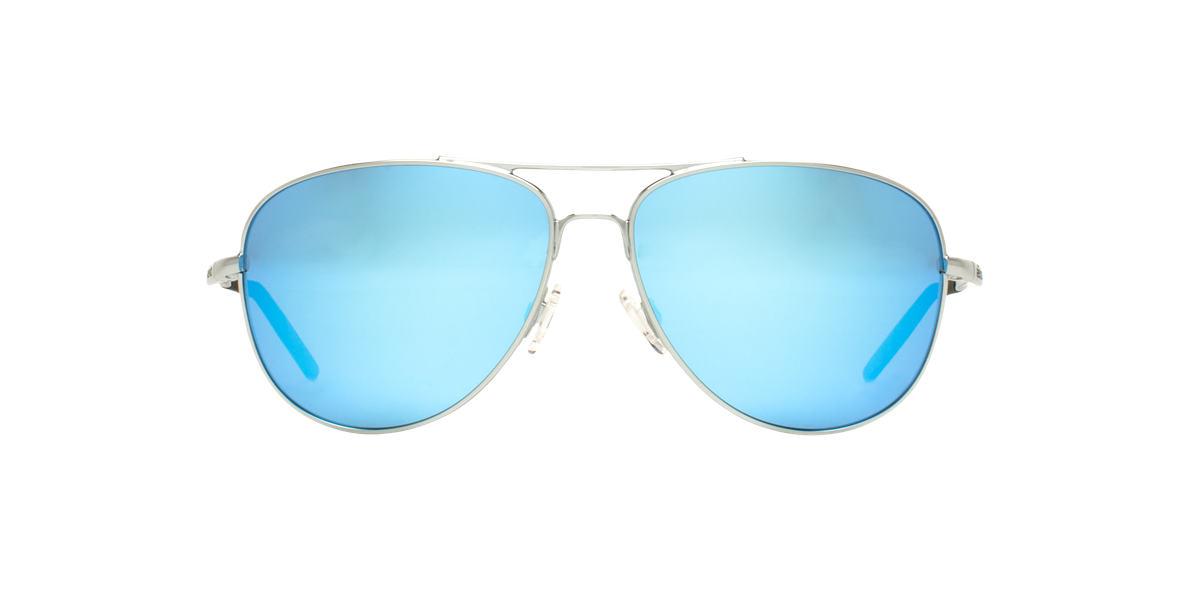 REVO Silver Shiny RE3087 WINDSPEED Blue polarized lenses 61mm