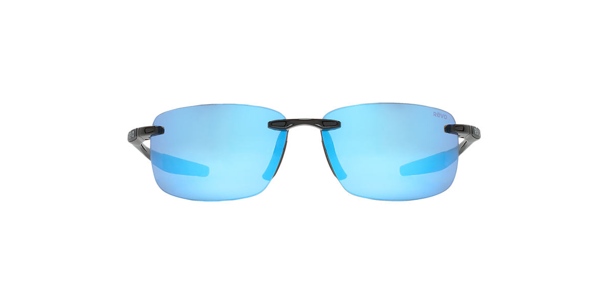 REVO Black RE4059 DESCEND N 64 Blue polarized lenses 64mm