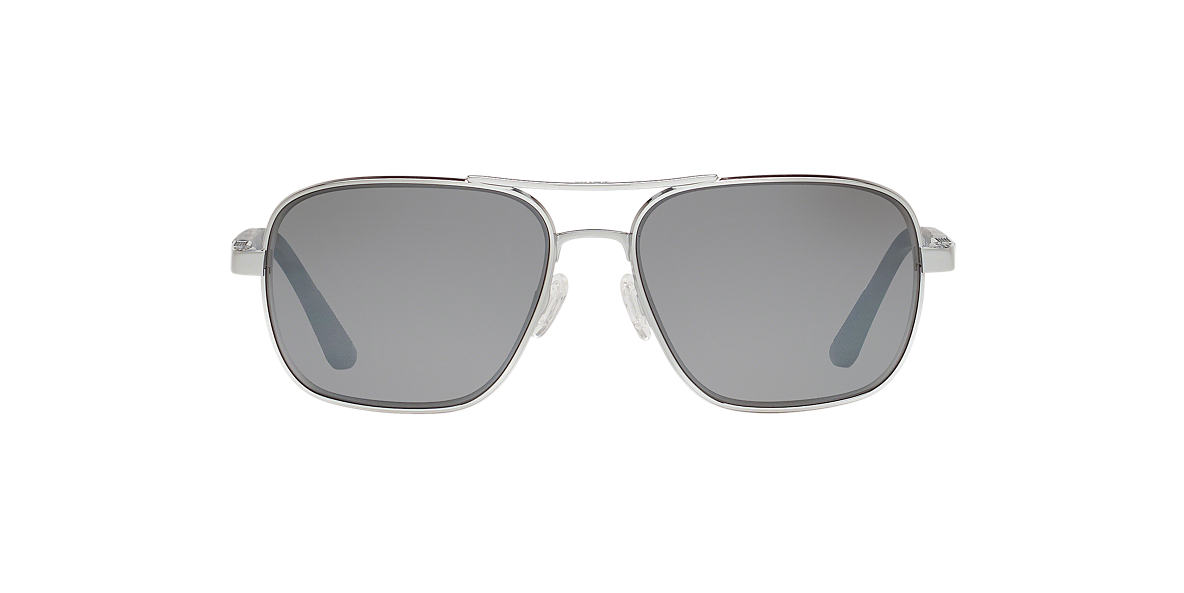 REVO Silver Shiny RE1012 FREEMAN 58 Grey polarized lenses 58mm