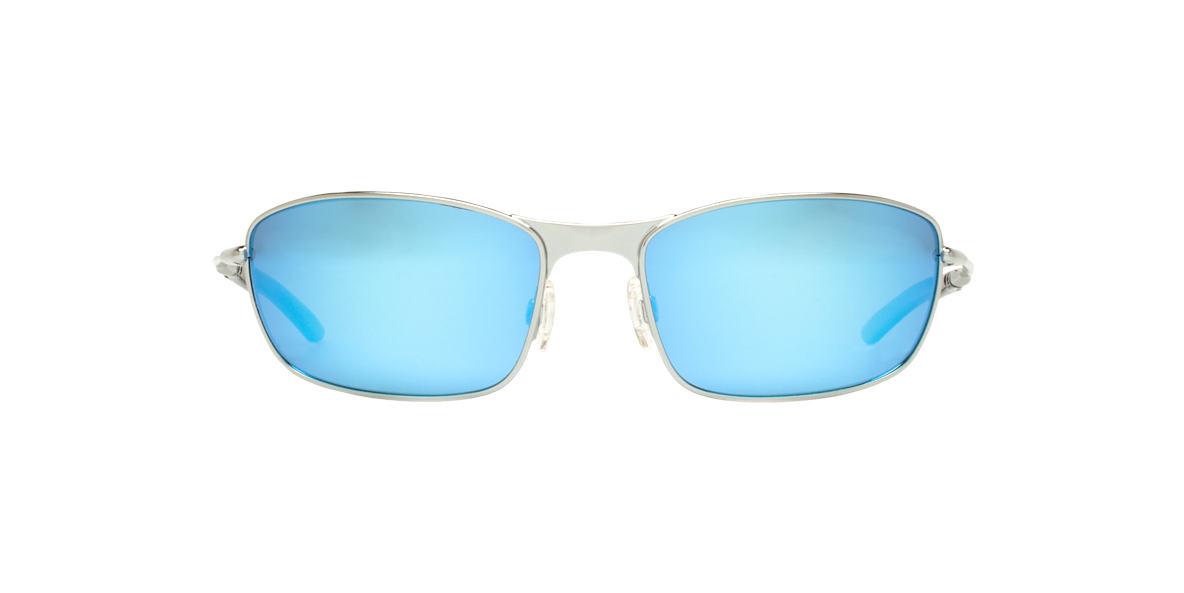 REVO Silver Shiny RE3090 THIN SHOT Blue polarized lenses 60mm