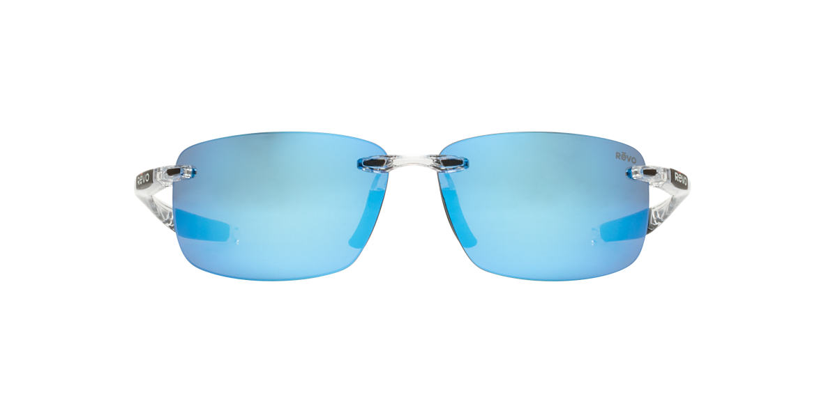 REVO Clear RE4059 DESCEND N 64 Blue polarized lenses 64mm