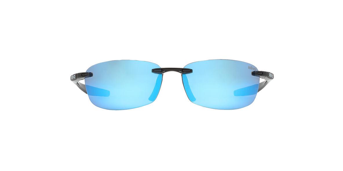 REVO Black RE4060 DESCEND E 64 Blue polarized lenses 64mm