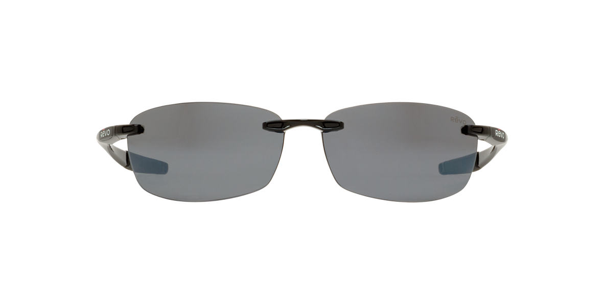 REVO Black RE4060 DESCEND E Grey polarized lenses 64mm