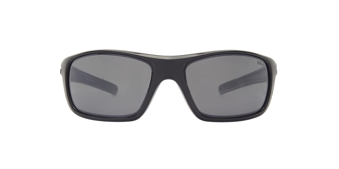 REVO Black RE4073 GUIDE II Black polarized lenses 63mm
