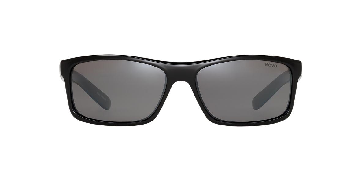 REVO Black RE4061X SQUARE CLASSIC X 61 Grey polarized lenses 61mm