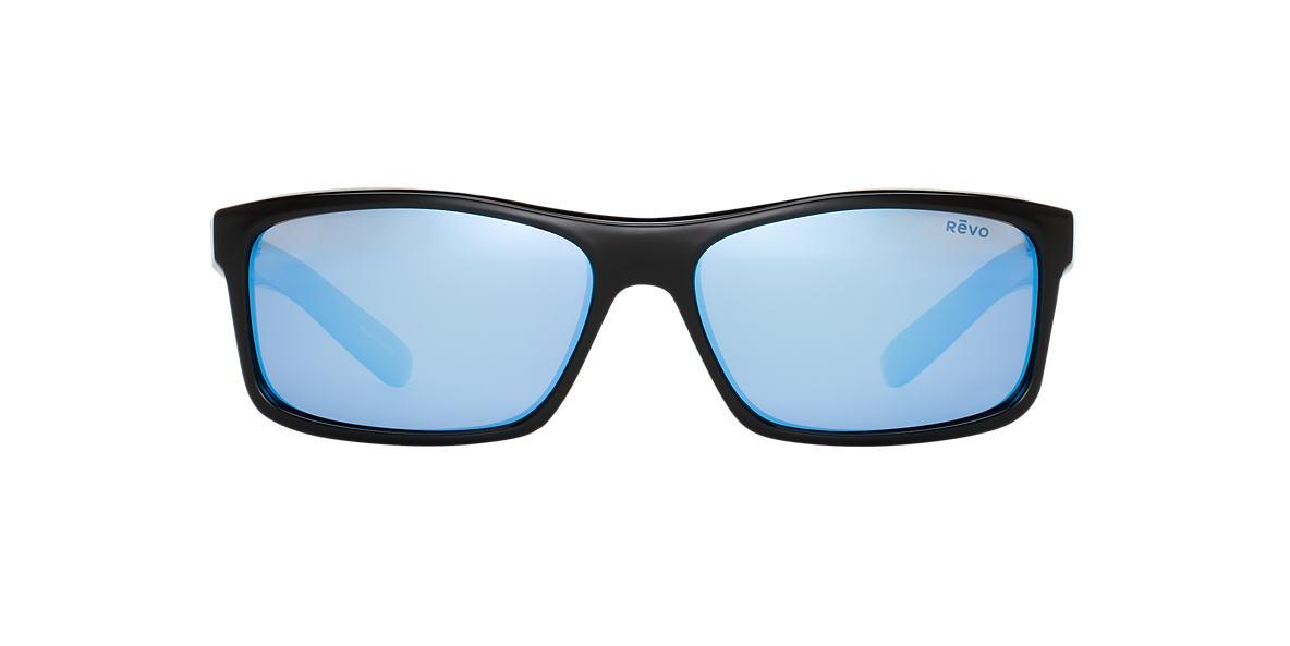 REVO Black RE4061X SQUARE CLASSIC X 61 Blue polarized lenses 61mm