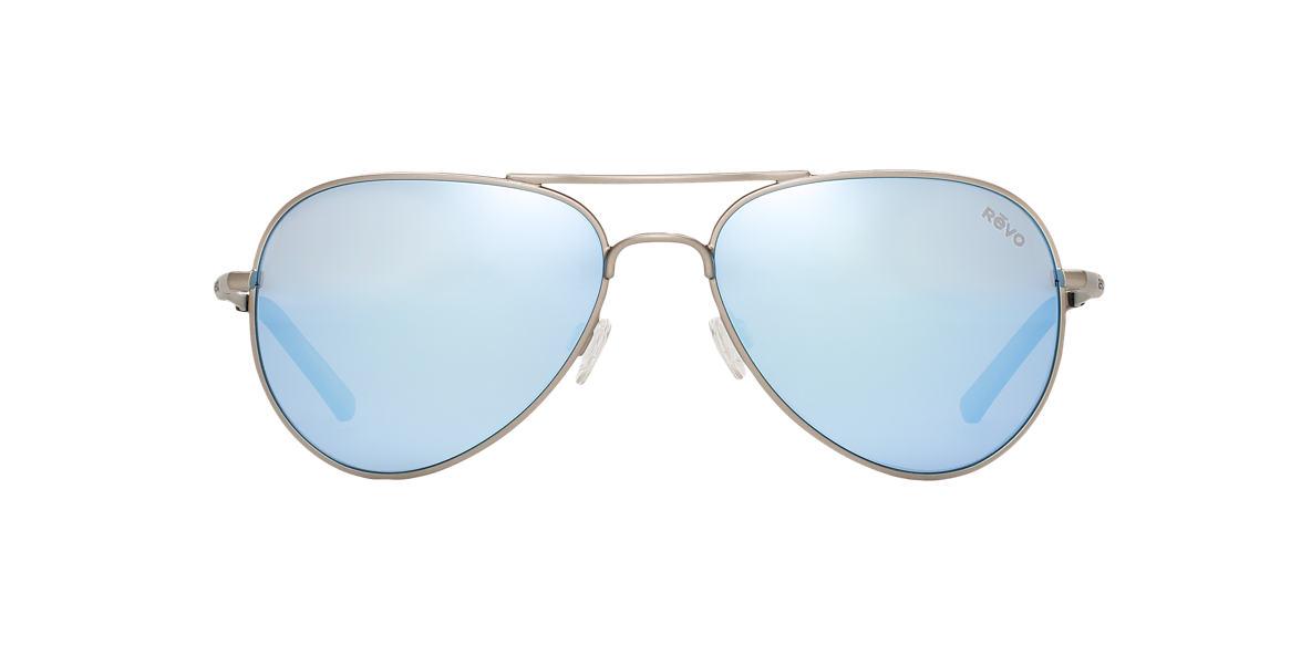 REVO Gunmetal RE5003X ELLIS 58 Blue polarized lenses 58mm