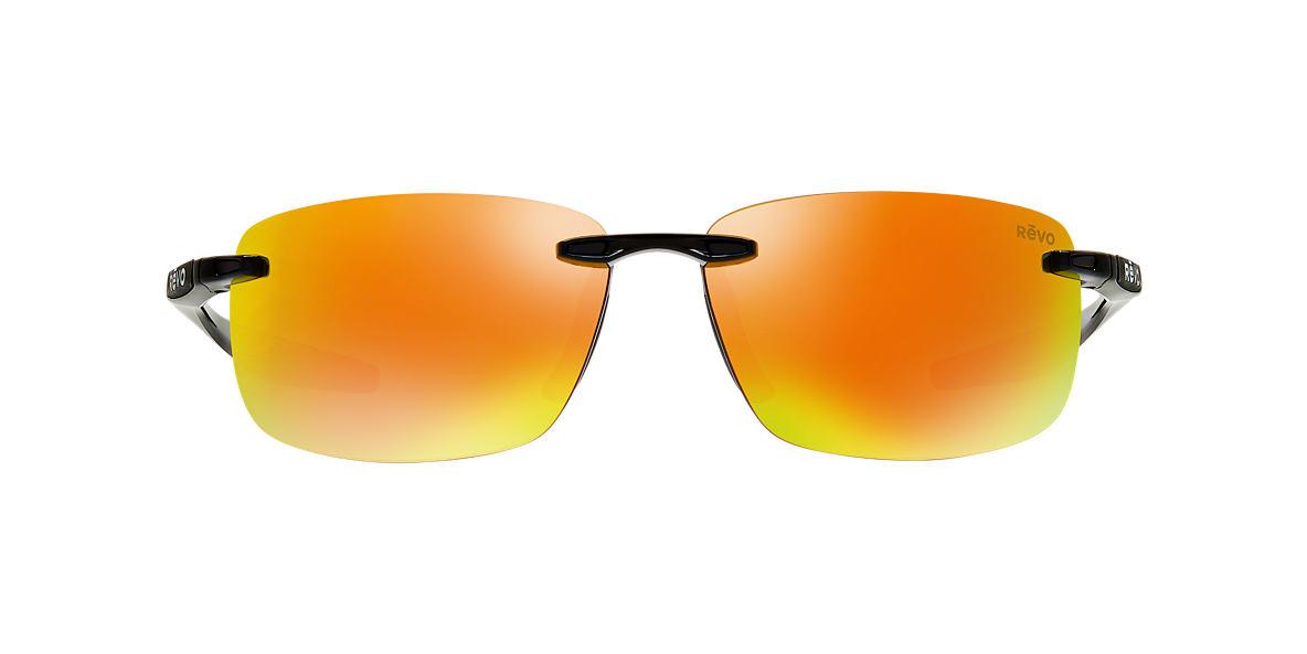 REVO Black RE4059 DESCEND N 64 Orange polarized lenses 64mm