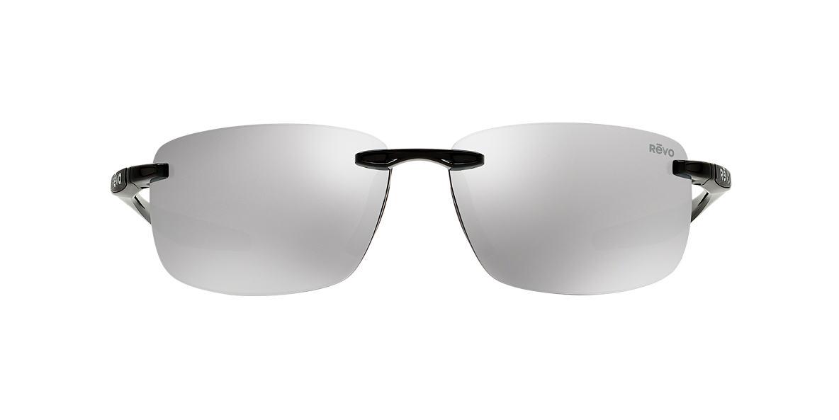 REVO Black RE4059 DESCEND N 64 Silver polarized lenses 64mm
