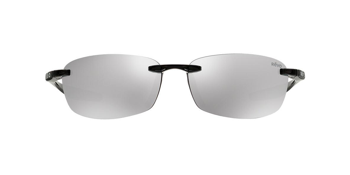 REVO Black RE4060 DESCEND E 64 Silver polarized lenses 64mm