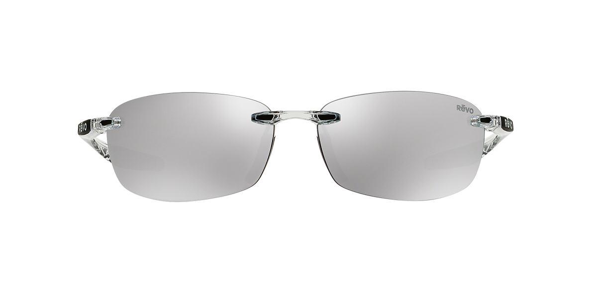 REVO Clear RE4060 DESCEND E 64 Silver polarized lenses 64mm