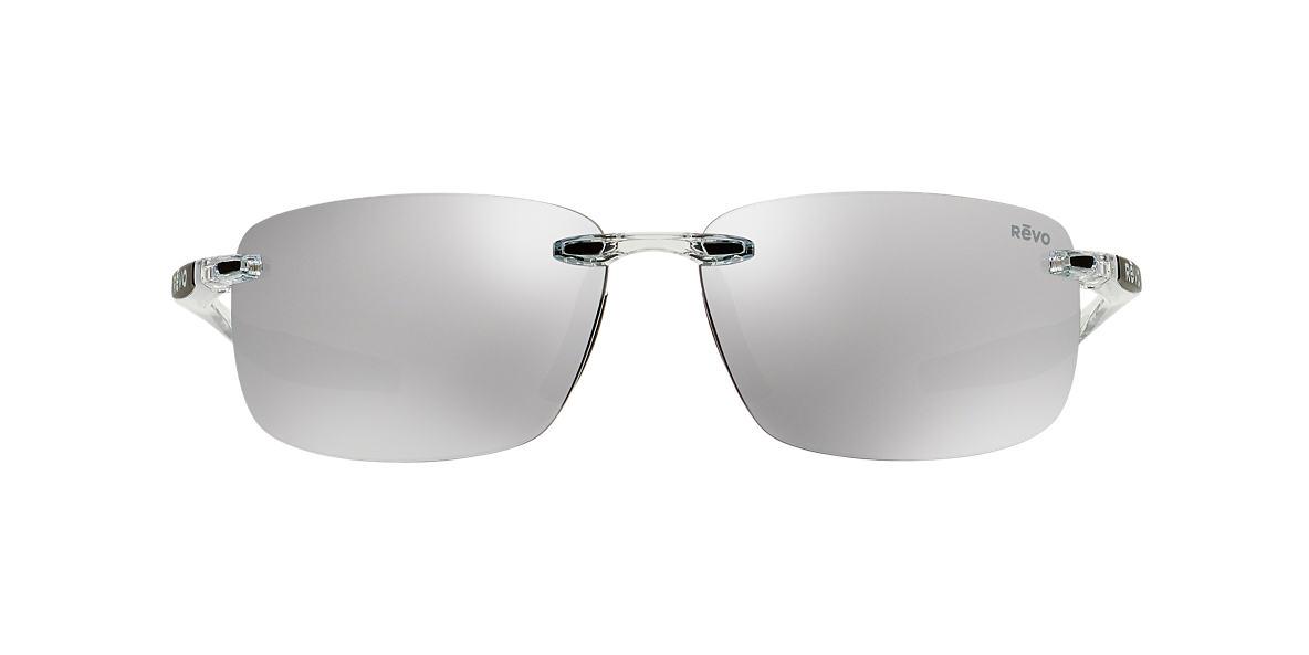 REVO Clear RE4059 DESCEND N 64 Silver polarized lenses 64mm