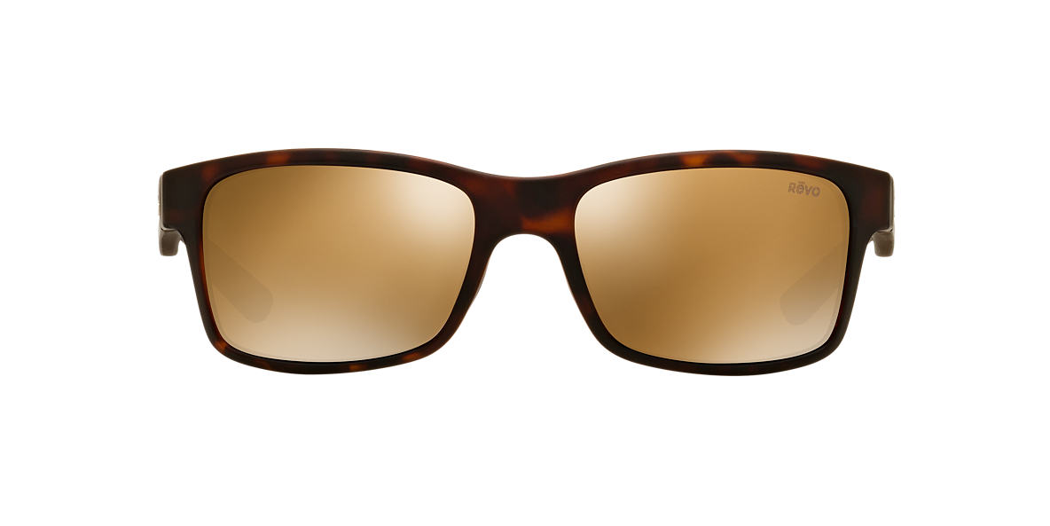REVO Tortoise Matte RE1027 CRAWLER 65 Bronze polarized lenses 65mm