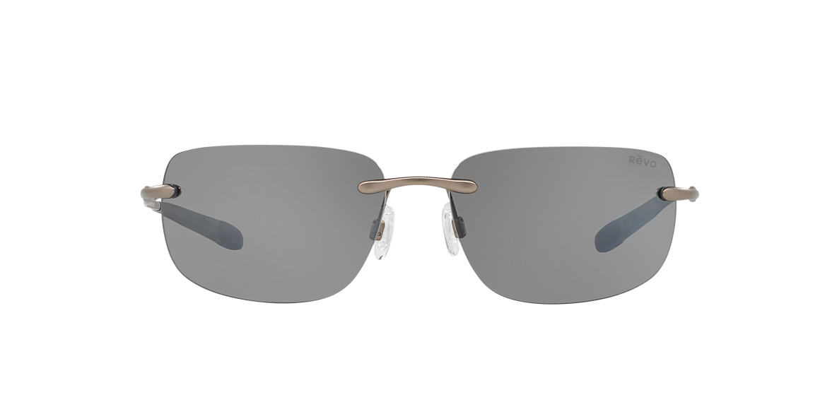 REVO Gunmetal RE1029 OUTLANDER 65 Grey polarized lenses 65mm