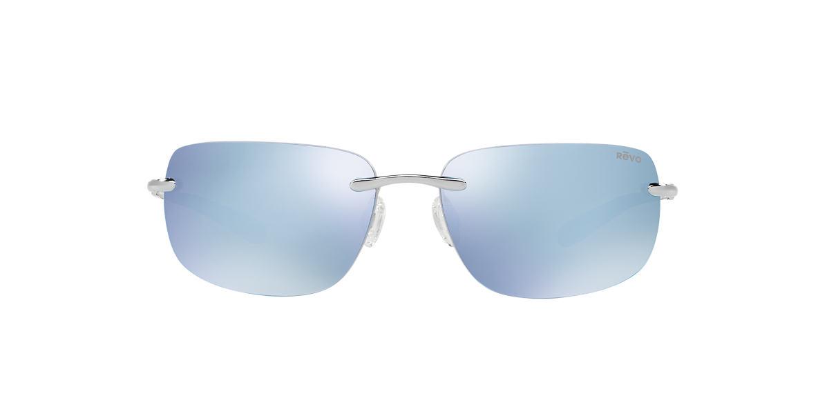 REVO Silver Shiny RE1029 OUTLANDER 65 Blue polarized lenses 65mm