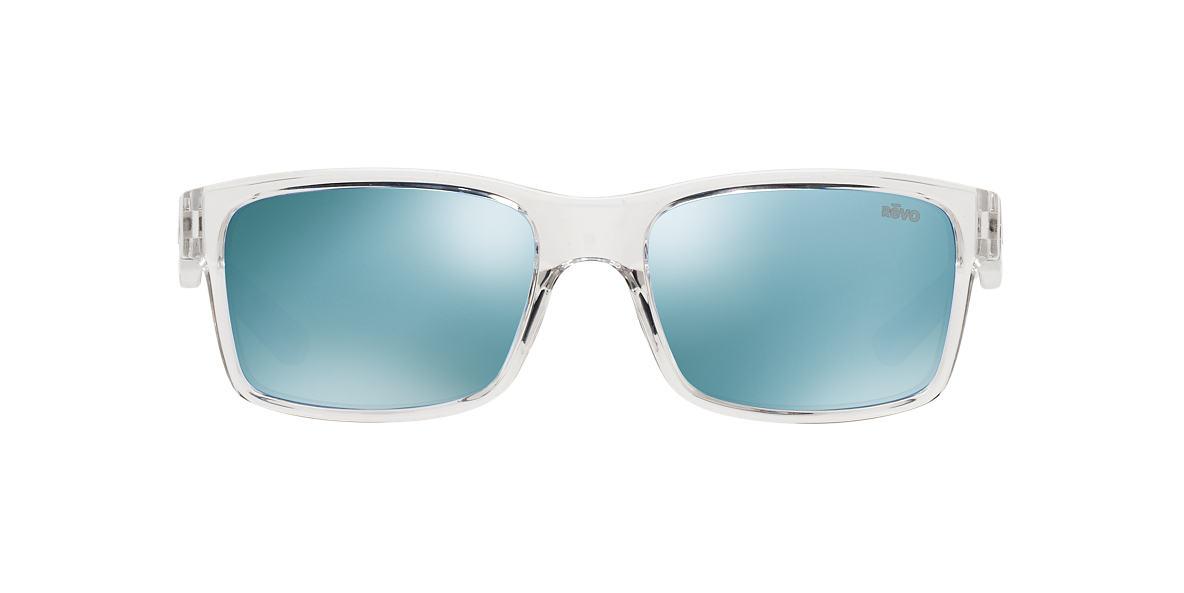 REVO Clear RE1027 CRAWLER 65 Blue polarized lenses 65mm
