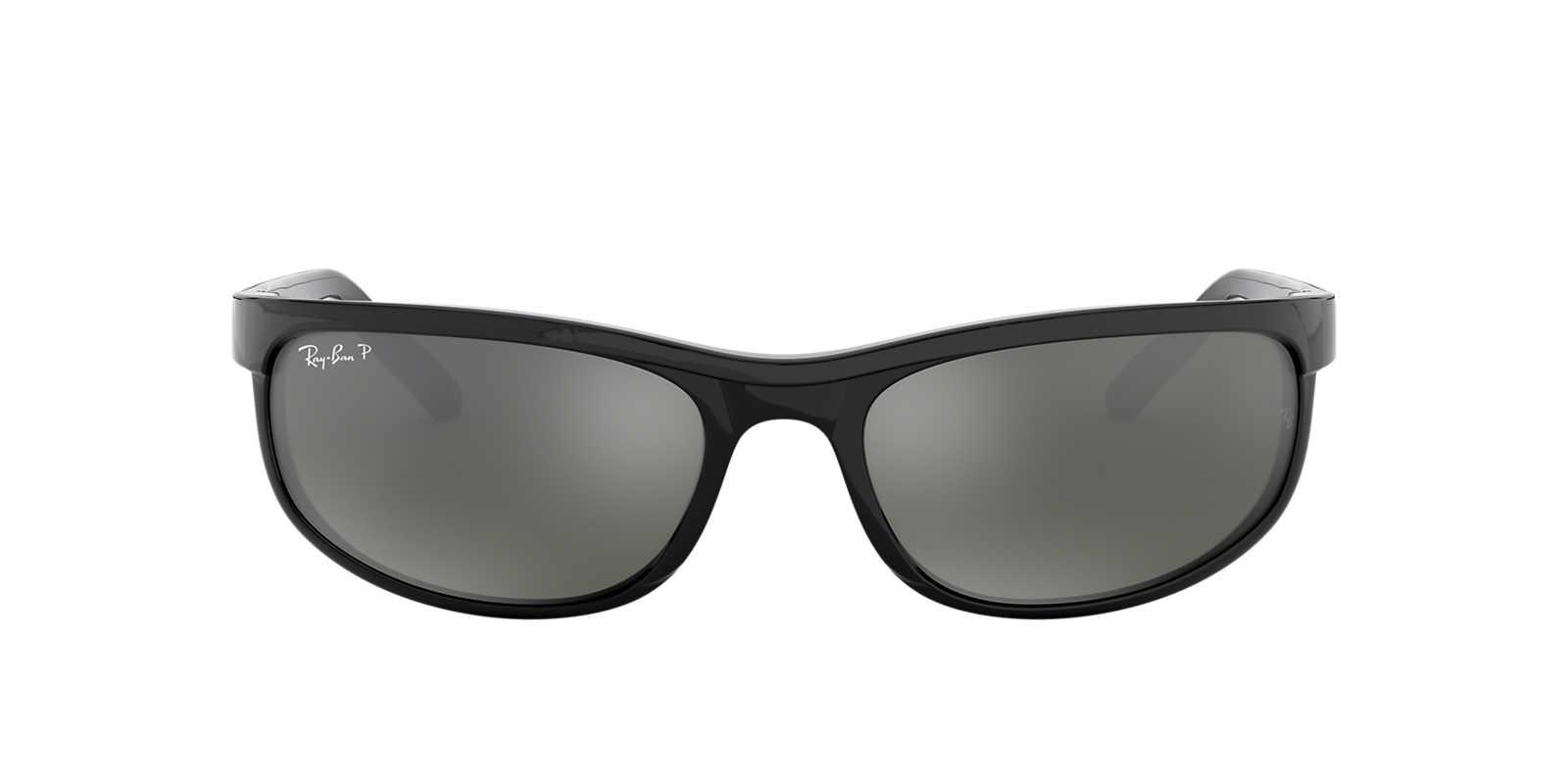 910309ddc1 RAY-BAN Black RB2027 62 PREDATOR 2 Grey polarized lenses 62mm