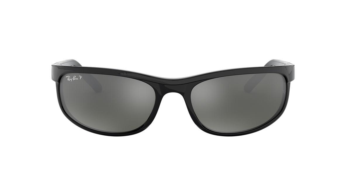 RAY-BAN Black RB2027 62 PREDATOR 2 Grey polarized lenses 62mm