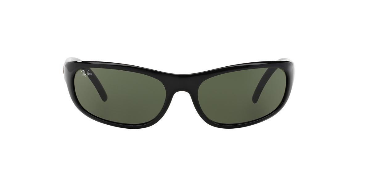 RAY-BAN Black RB4033 60 Green lenses 60mm