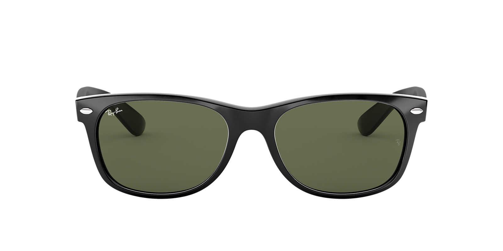 Ray ban sunglasses sale new zealand - Ray Ban Black Rb2132 Green Lenses 51mm