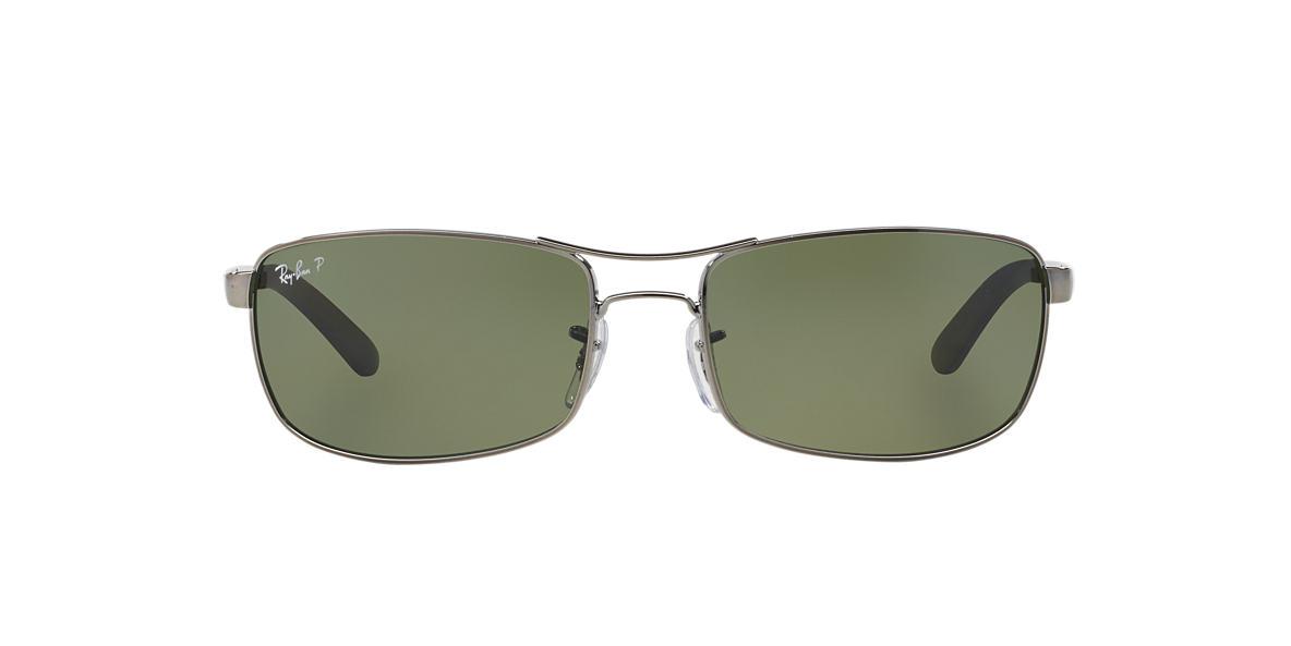 RAY-BAN Gunmetal RB3212 61 Green polarized lenses 61mm