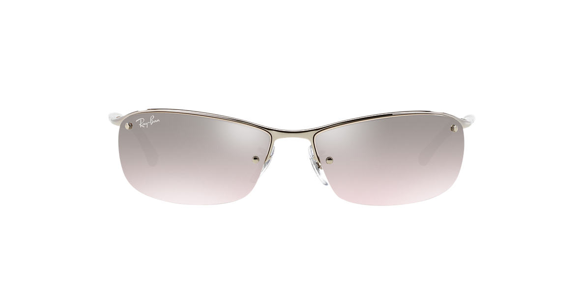 RAY-BAN Silver RB3183 63 Grey lenses 63mm