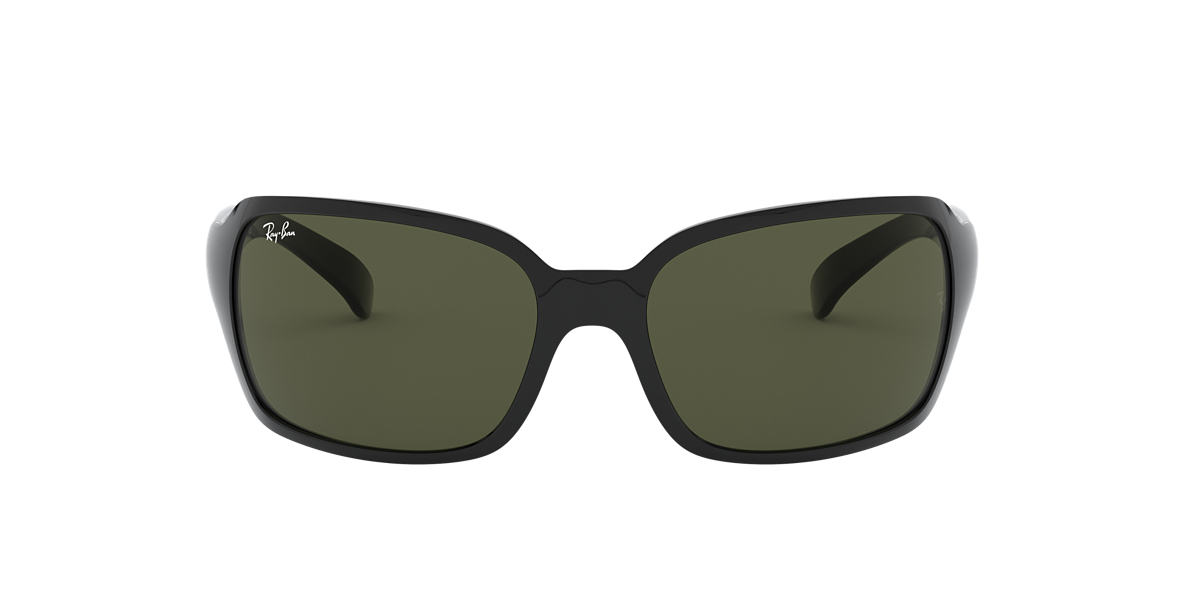RAY-BAN Black RB4068 60 Green lenses 60mm