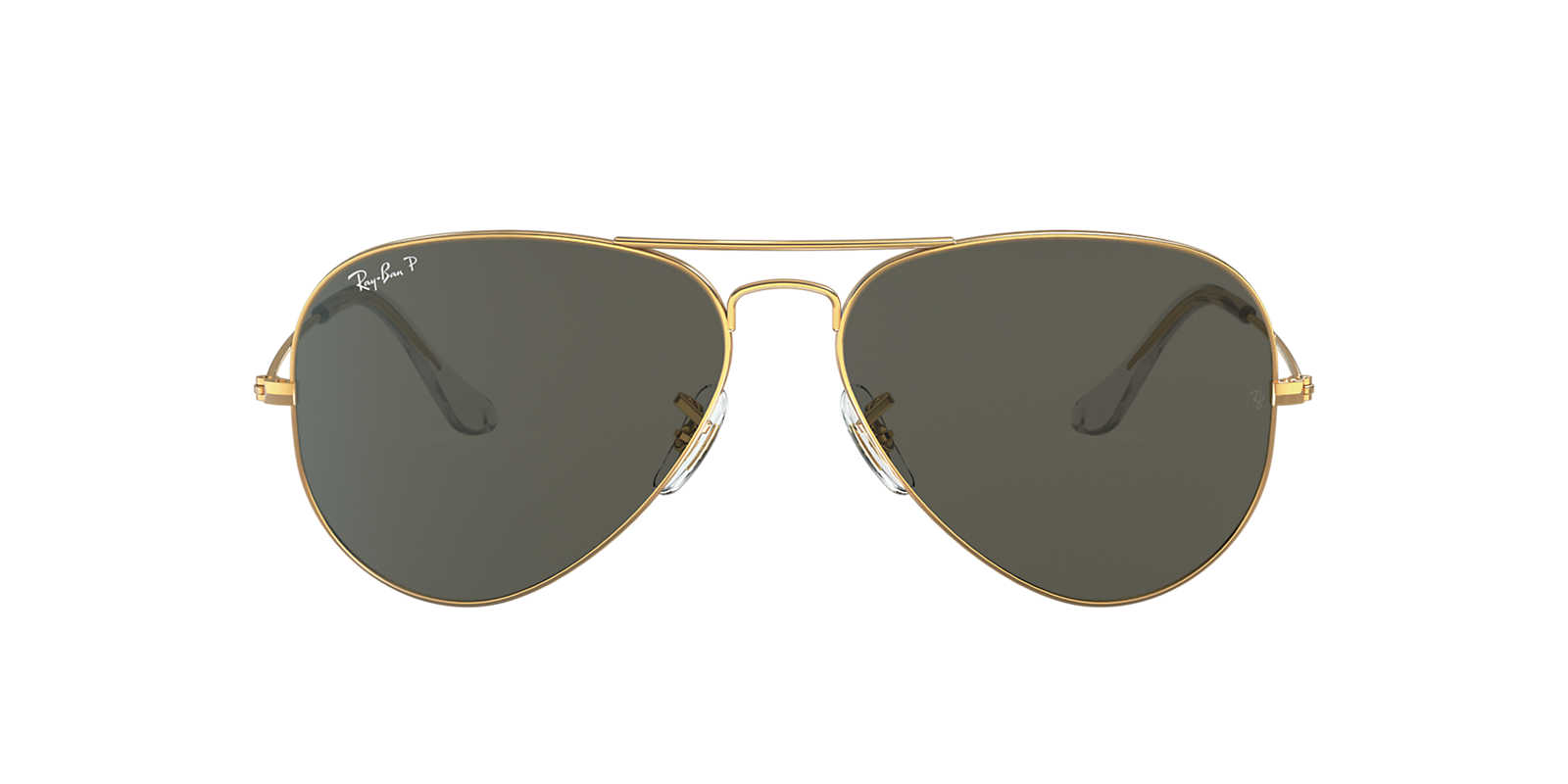 ray ban original aviator  ray ban gold shiny rb3025 58 original aviator green polarized lenses 58mm