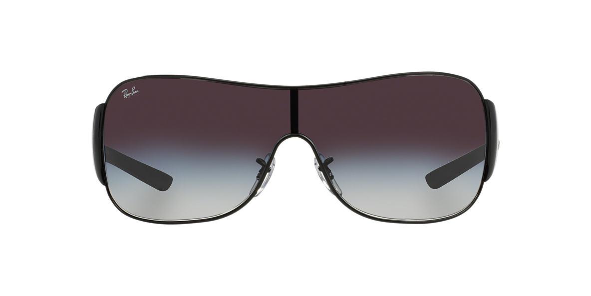 RAY-BAN Black RB3321 133 Grey lenses 33mm